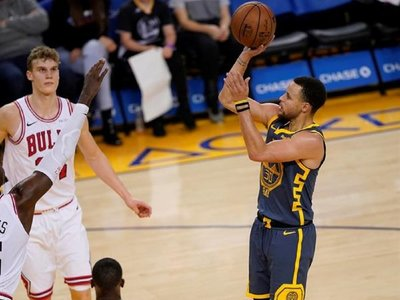 Harden y Curry protagonizan otra noche estelar de marcas