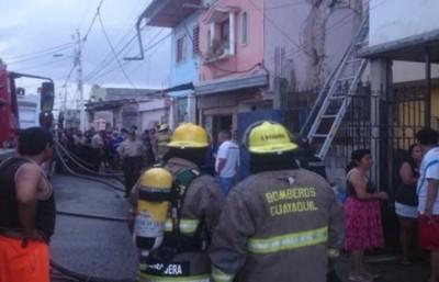Ecuador: incendio en una clínica de rehabilitación dejó 18 muertos
