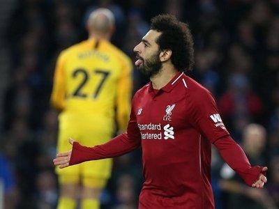 Salah da la victoria al Liverpool y presiona al City