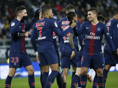 PSG se desquita en la Ligue 1 y el Amiens lo sufre