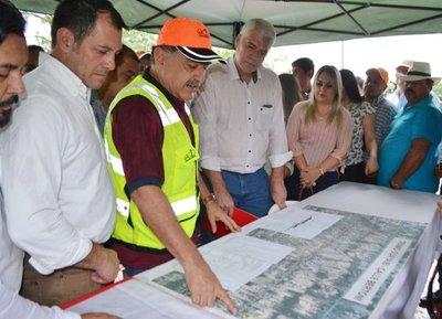 Piden al MOPC obras en San Pedro y Canindeyú