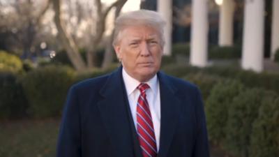 Donald Trump afirmó que el cierre del gobierno podría zanjarse en 15 minutos