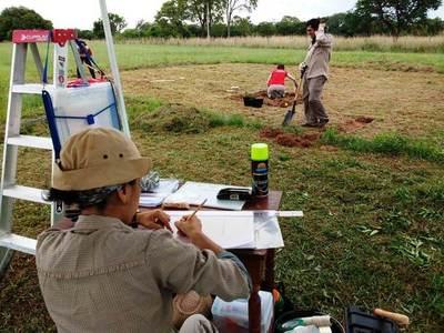 Cultura inicia estudios arqueológicos en el Campamento Cerro León