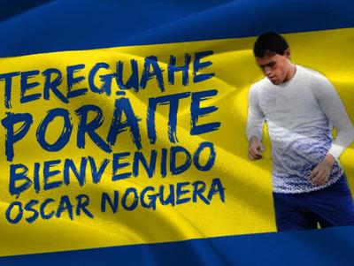 Oscar Noguera es otro nuevo en Luqueño