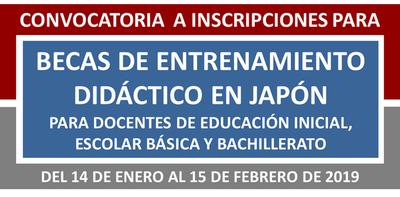 Japón ofrece becas a maestros paraguayos