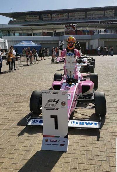 Hito para Paraguay en la Fórmula 4