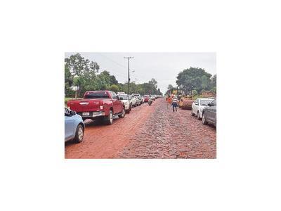 Se inició trabajo de asfaltado en el  tramo Guayaybí-Bertoni
