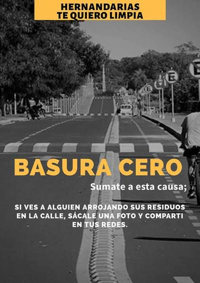 """Inician campaña """"Basura Cero"""" en Hernandarias"""