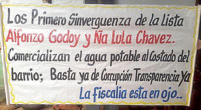 Funcionario municipal se adueña de pozo artesiano en Pablo Rojas