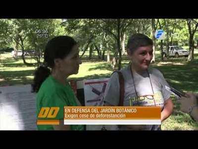 En defensa del Jardín Botánico