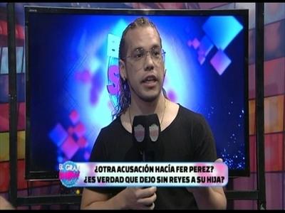 Fer Pérez respondió tras acusaciones de dejar sin reyes a su hija