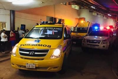 Bebé nace en ambulancia de bomberos de Minga Guazú