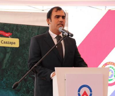 Gobernador de Caazapá habla sobre su salida de Honor Colorado