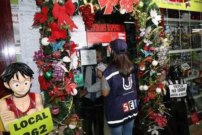 Tributación suspendió a comercios en Asunción y Encarnación por no expedir facturas