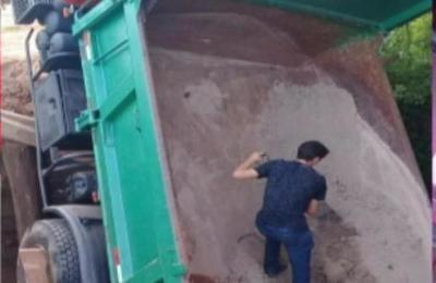 Camión cayó de un puente en Caaguazú