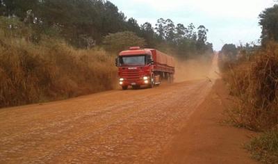 No arranca el proyecto para asfaltar  Mbaracayú