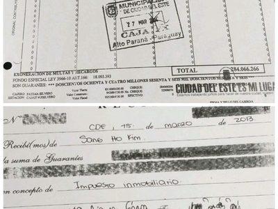"""Montos exorbitantes en robos  de Sandra con """"Caja  9"""", y hasta expedían recibos comunes a extranjeros"""