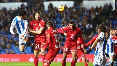 Real Sociedad aprovecha ausencia de Hernán y vence al Espanyol