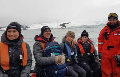 Líderes científicas en el continente antártico