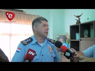 CONSTRUYEN PUESTO POLICIAL EN EDELIRA