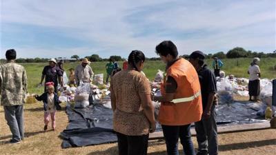 Prosigue asistencia alimentaria a familias indígenas del Chaco