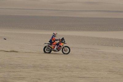 Price, nuevo líder del Dakar