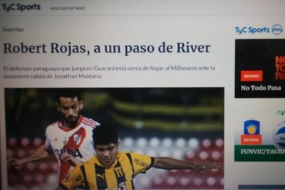 En Argentina, ven a Robert Rojas en River