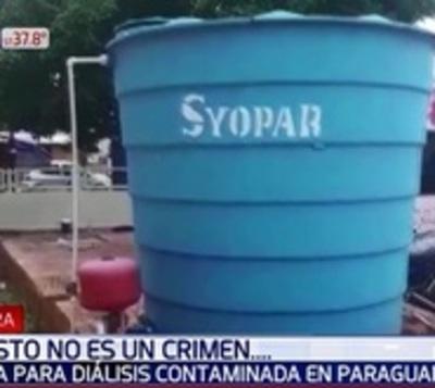Pacientes denuncian uso de agua contaminada en tratamiento de diálisis