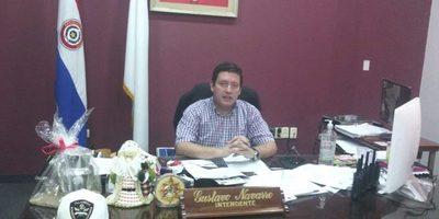 Intendente Navarro anuncia aporte para Bomberos de Villarrica