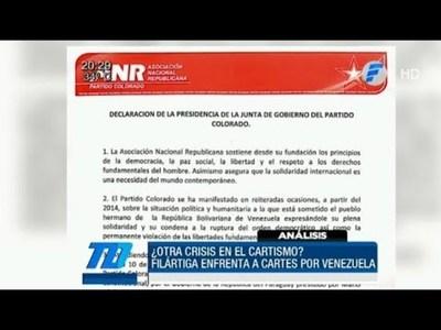 Darío Filártiga enfrenta a Cartes por Venezuela
