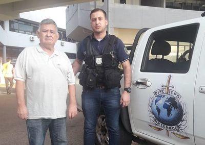"""""""El fantasma"""" es extraditado a Argentina"""