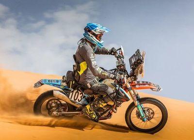 Parapléjico hizo historia en el Rally Dakar