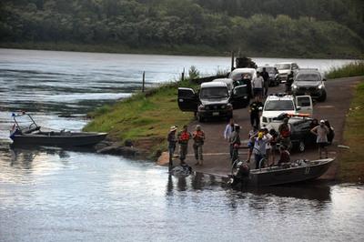 Hallan cuerpo de hombre ahogado en el río Paraná