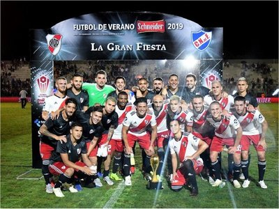 El campeón de la Libertadores comenzó el 2019 con un triunfo ante Nacional