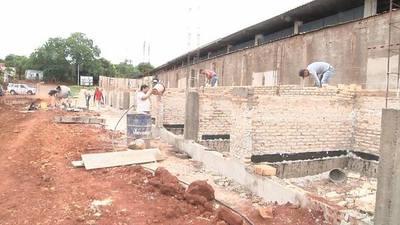 Avanzan obras de la nueva terminal de ómnibus en municipio franqueño