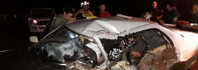 Madre e hijo mueren en accidente de tránsito