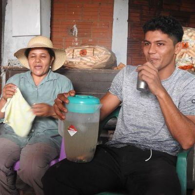 Rojas, el crack que usa sus vacaciones para trabajar en la chacra y ayudar a sus padres