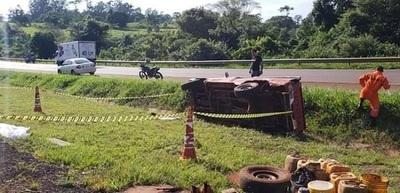 Accidente deja un muerto y varios heridos en Alto Paraná