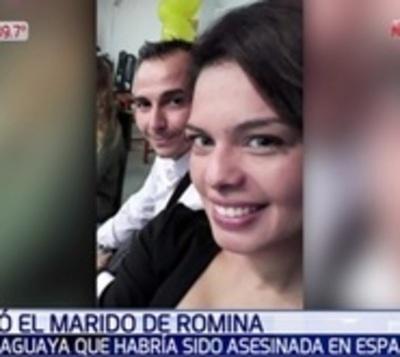 Envían a prisión por homicidio al marido de Romina