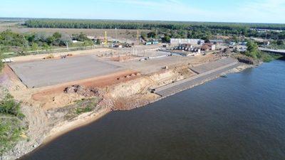 Millonaria inversión para mejoras en puerto de Pilar