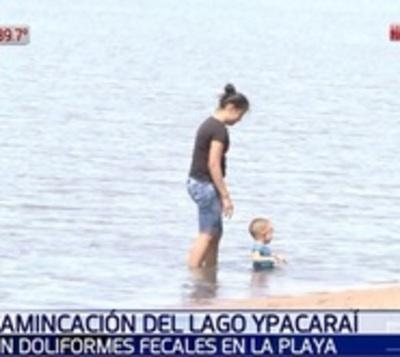 Hallan coliforme fecal en aguas del Lago Ypacaraí