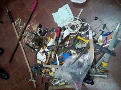 Evitan fuga de peligrosos criminales de la cárcel de San Pedro