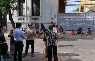 SEN denuncia actos vandálicos frente a la sede