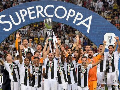 Juventus conquistó su octava supercopa de Italia