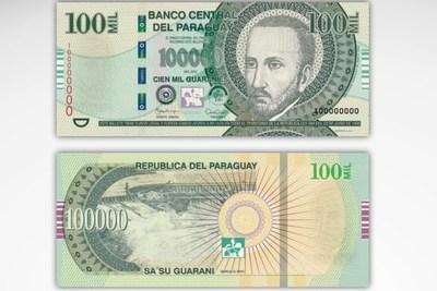 Nueva modalidad: cuidado con los billetes falsos de G. 100.000