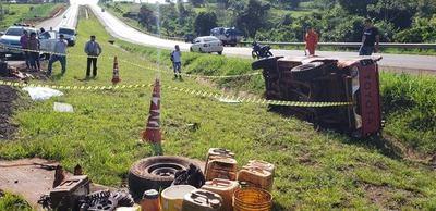 Accidente de tránsito deja un muerto en Yguazú