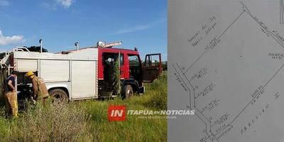 CNEL. BOGADO: BOMBEROS SOLICITAN SER BENEFICIARIOS DE IMPORTANTE DONATIVO.
