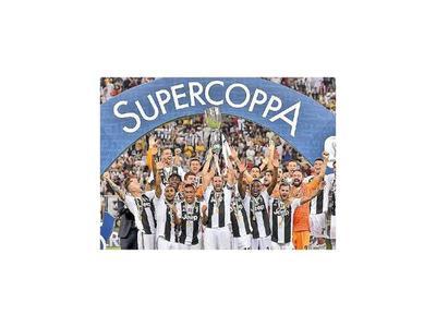 Cristiano le da  la Supercopa a Juventus