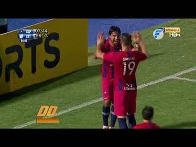 Resumen de goles de los amistosos de Olimpia y Cerro Porteño
