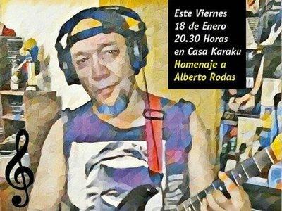 Realizan concierto homenaje a Alberto Rodas